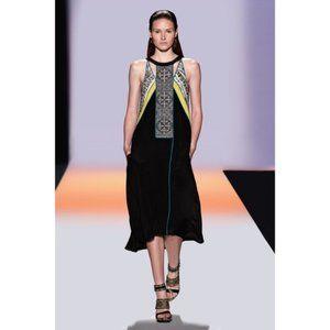 BCBG RUNWAY • NWT Ezmi Silk Halter Beaded Dress